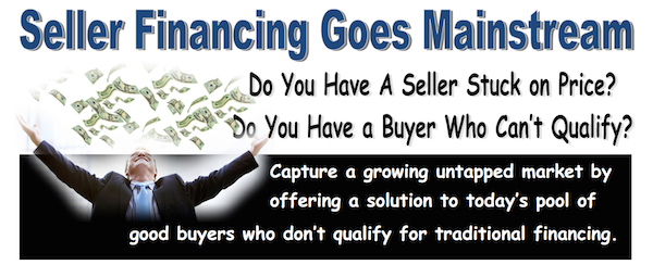 realtor brochure seller financing
